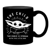 Star Wars: The Mandalorian Force is Strong with this Little One The Child 20 oz Mug