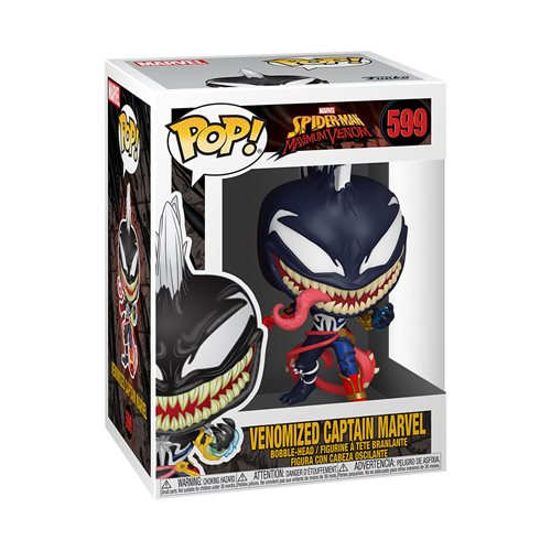 Marvel Venomized Captain Marvel Pop! Vinyl Figure