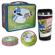 Regular Show Tin Tote Gift Set - Convention Exclusive