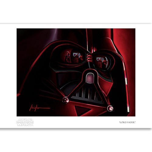 Star Wars Rogue One Lord Vader by Christian Waggoner Paper Giclee Art Print