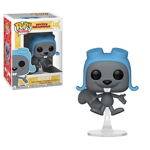 Rocky and Bullwinkle Flying Rocky Pop! Vinyl Figure #448