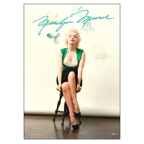 Marilyn Monroe Signature MightyPrint Wall Art Print