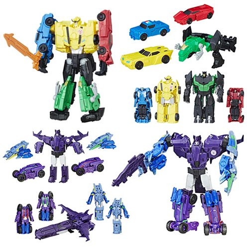 Transformers Robots in Disguise Team Combiners Wave 2 Case