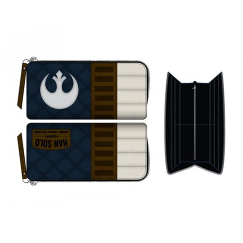 Star Wars Han Solo Zip Around Wallet