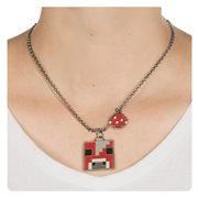 Minecraft Mooshroom Necklace
