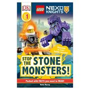 LEGO Nexo Knights Stop the Stone Monsters DK Readers 1 Paperback Book