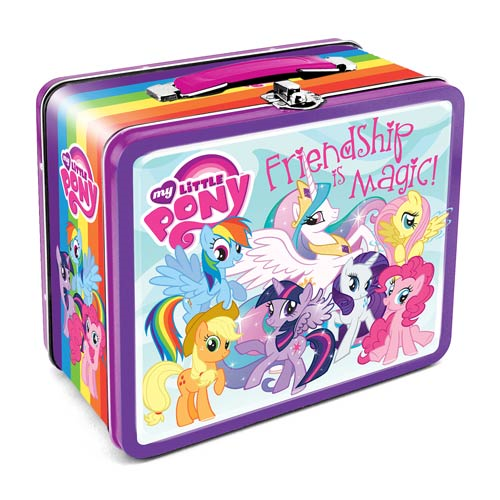 My Little Pony Friendship is Magic Large Fun Box Tin Tote