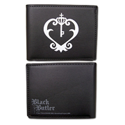 Black Butler Sebastian Watch Logo Wallet