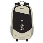 Mickey Mouse Taupe Nylon Backpack