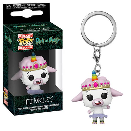 Rick and Morty Tinkles Pocket Pop! Key Chain