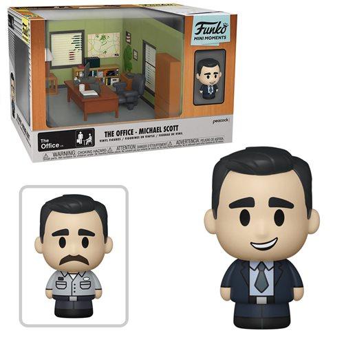 The Office Michael Mini Moments Mini-Figure Diorama Playset