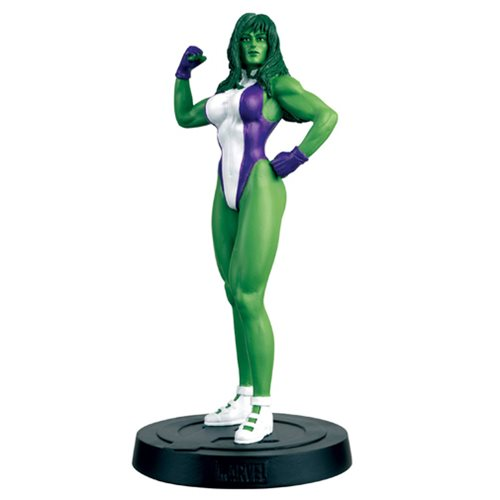 Marvel Fact Files Special #13 She-Hulk Figure with Collector Magazine