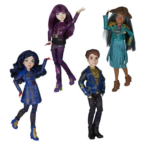 Disney Descendants D2 Movie Signature Dolls Wave 1 Case