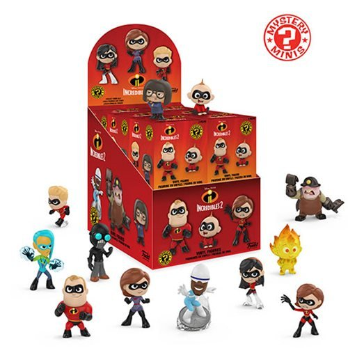Incredibles 2 Mystery Minis Random 4-Pack