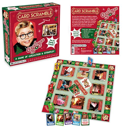 A Christmas Story Card Scramble Game