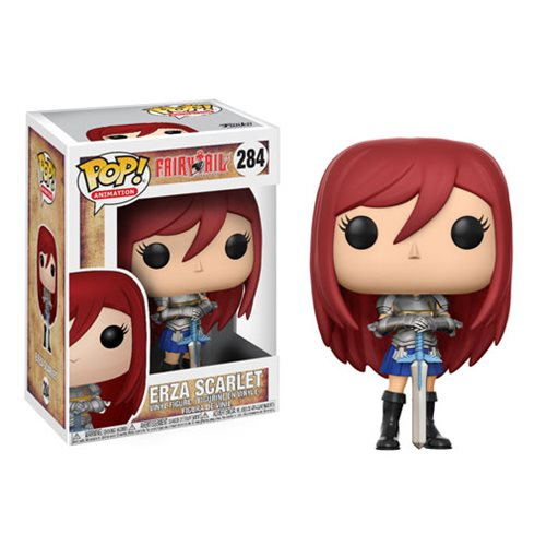 Fairy Tail Ezra Scarlet Pop! Vinyl Figure #284