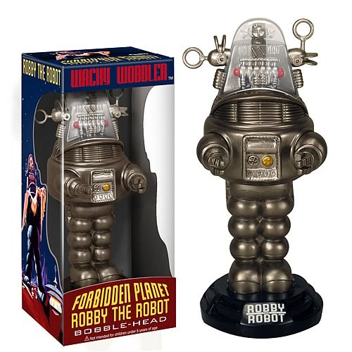 Forbidden Planet Robby the Robot Bobble Head