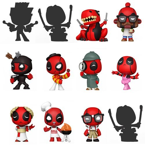 Deadpool 30th Mystery Minis Mini-Figure Display Case