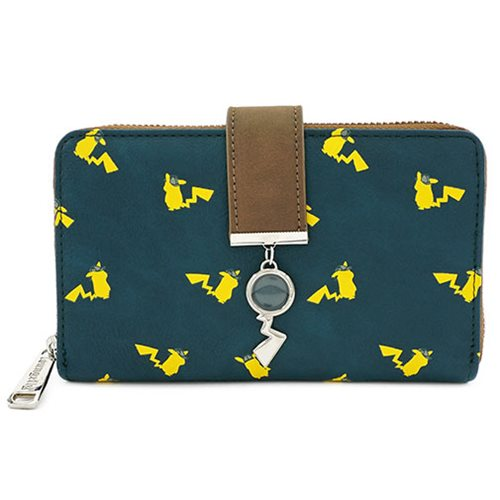 Pokemon Detective Pikachu Zip-Around Wallet