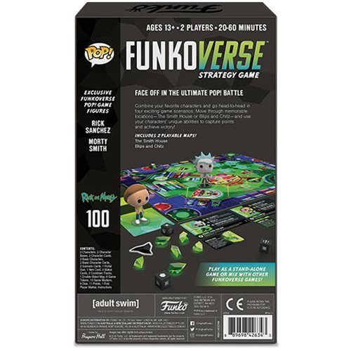 Rick and Morty Pop! Funkoverse Strategy Game Expandolone