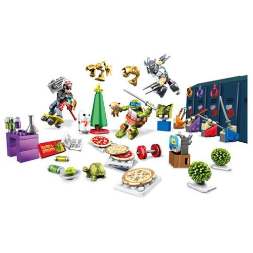 Mega Bloks Teenage Mutant Ninja Turtles Advent Calendar