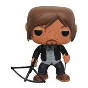 The Walking Dead Bloody Biker Daryl Dixon Previews Exclusive Pop Vinyl Figure