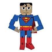 DC Comics Superman Wood Warriors Action Figure
