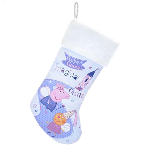 Peppa Pig and Candy with Magic Castle 19-Inch Stocking