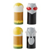 DC Comics Aquaman vs. Black Manta Stylized Salt and Pepper Shaker Set