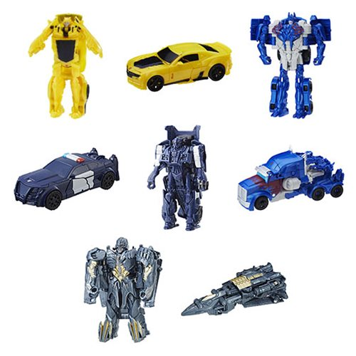 Transformers Last Knight One Step Turbo Changers Wave 4 Set