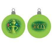 Grinch Shatterproof 80mm Ball Ornament