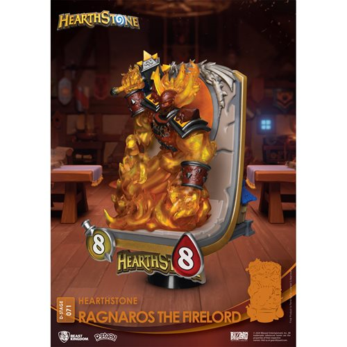 Hearthstone Ragnaros The Firelord DS-071 D-Stage 6-Inch Statue