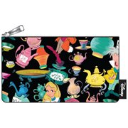 Alice in Wonderland Tea Cups Print Pencil Case