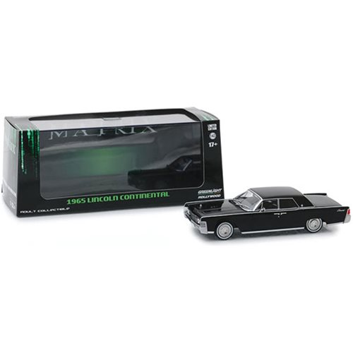 The Matrix 1999 - 1965 Lincoln Continental 1:43 Scale Die-Cast Vehicle