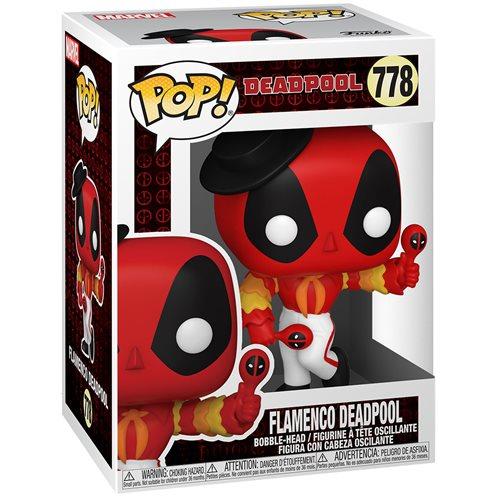 Deadpool 30th Anniversary Flamenco Deadpool Pop! Vinyl Figure