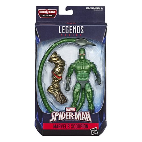 Amazing Spider-Man Marvel Legends Figures Wave 12 Case