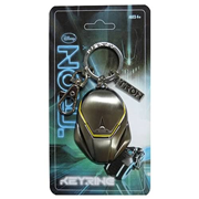 TRON Helmet Pewter Key Chain