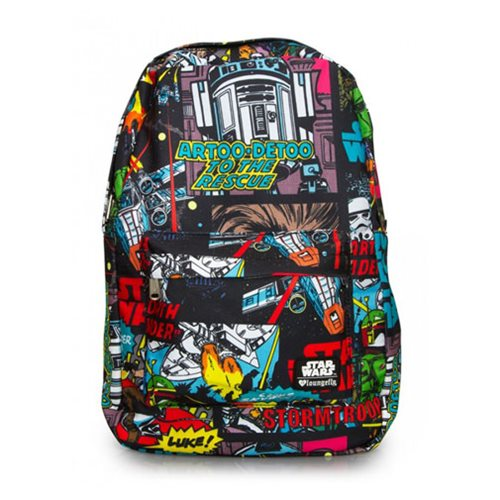 Star Wars Comic Book Panel Laptop Backpack