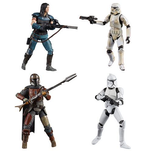 Star Wars The Vintage Collection The Rise of Skywalker Action Figures Wave 3 Set