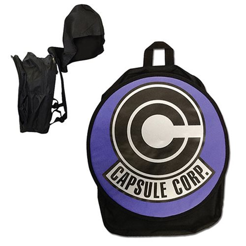 Dragon Ball Z Capsule Corp. Hooded Backpack