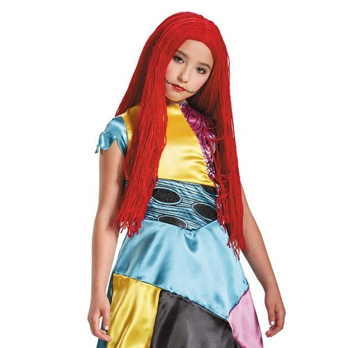Nightmare Before Christmas Sally Child Roleplay Wig