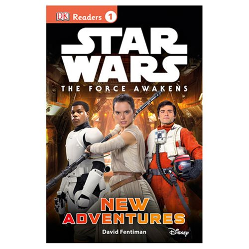Star Wars: Episode VII - The Force Awakens: New Adventures DK Reader 1 Hardcover Book
