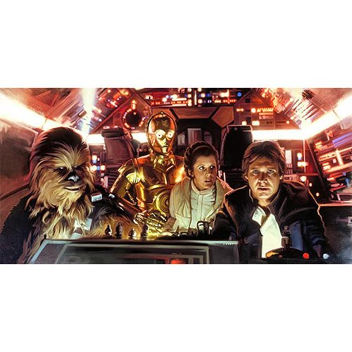Star Wars I've Got This by Brian Rood Canvas Giclee Art Print