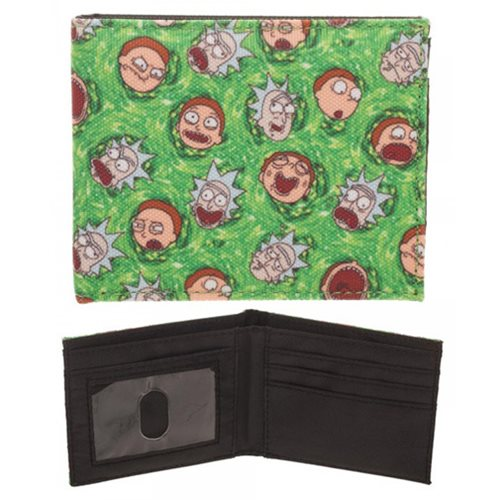 Rick and Morty Quickturn Bifold Wallet
