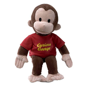 Curious George in Red Shirt 16-Inch Plush