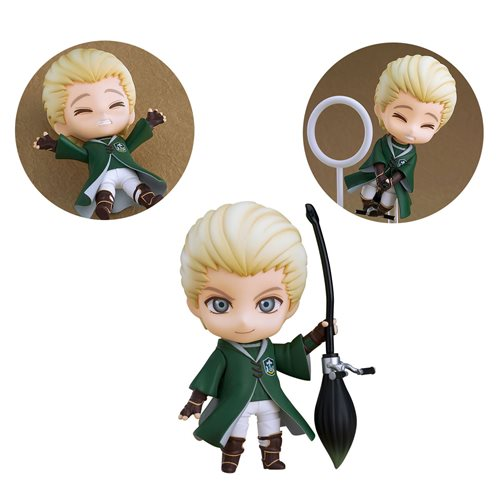 Harry Potter Draco Malfoy Quidditch Version Nendoroid Action Figure