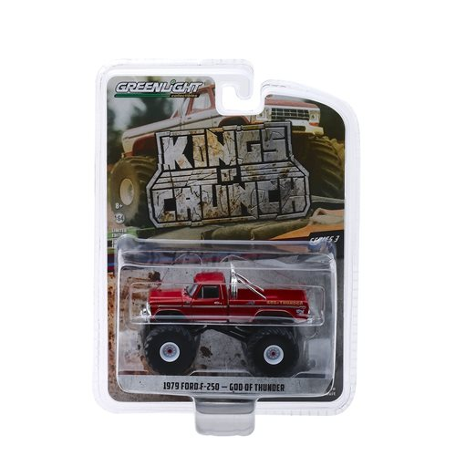 Kings of Crunch Series 3 God of Thunder 1979 Ford F-250 1:64 Scale Monster Truck