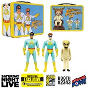 Saturday Night Live The Ambiguously Gay Duo and Bighead 3 3/4-Inch Figures in Tin Tote - Convention Exclusive