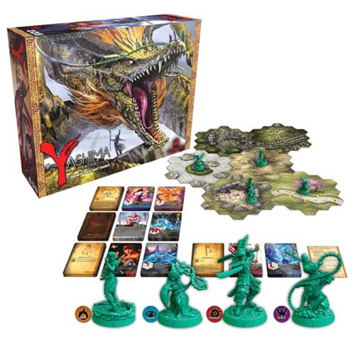 Yashima Legend of the Kami Masters Strategy Game