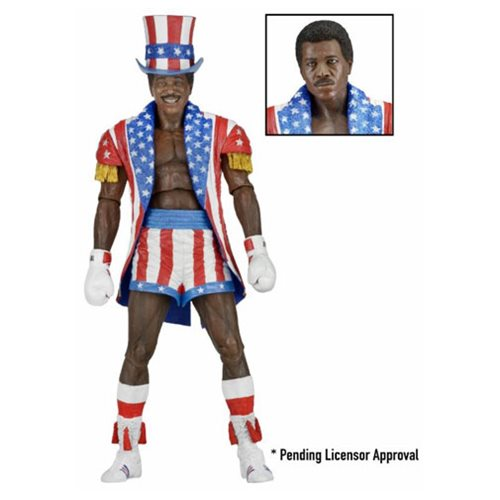 Rocky 40th Anniversary Apollo Creed 7-Inch Scale Series 2 Action Figure